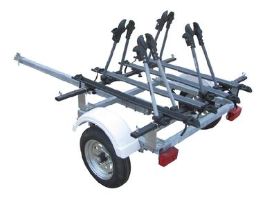 magneta 4 place bicycle trailer
