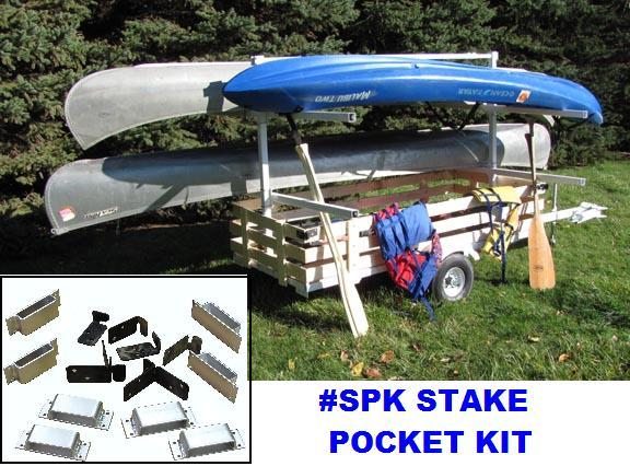KAYAK CANOE TRAILER STORAGE KIT