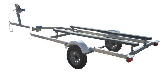 16 foot boat trailer kit