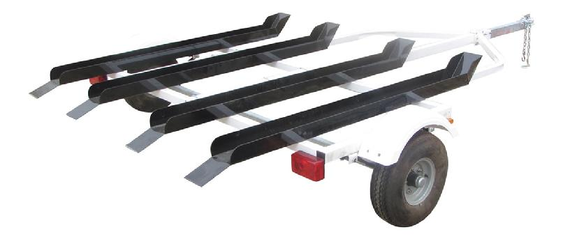 4 rail dirt bike trailer
